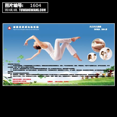 妇幼医院宣传海报 (编号:1604)