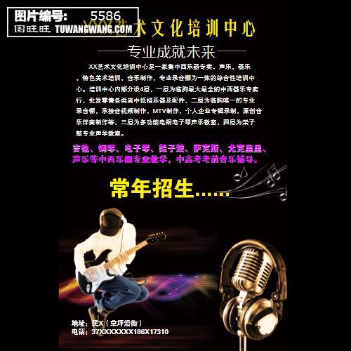 吉他,钢琴,电子琴,架子鼓,萨克斯,尤克里里, 声乐等中西乐器专业